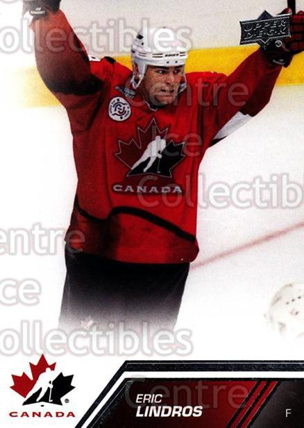 2013-14 Upper Deck Team Canada #121 Eric Lindros<br/>2 In Stock - $3.00 each - <a href=https://centericecollectibles.foxycart.com/cart?name=2013-14%20Upper%20Deck%20Team%20Canada%20%23121%20Eric%20Lindros...&quantity_max=2&price=$3.00&code=643506 class=foxycart> Buy it now! </a>