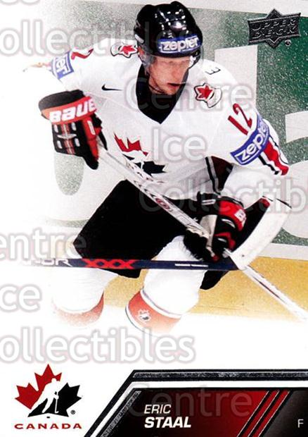 2013-14 Upper Deck Team Canada #122 Eric Staal<br/>5 In Stock - $2.00 each - <a href=https://centericecollectibles.foxycart.com/cart?name=2013-14%20Upper%20Deck%20Team%20Canada%20%23122%20Eric%20Staal...&quantity_max=5&price=$2.00&code=643507 class=foxycart> Buy it now! </a>