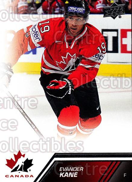 2013-14 Upper Deck Team Canada #123 Evander Kane<br/>6 In Stock - $2.00 each - <a href=https://centericecollectibles.foxycart.com/cart?name=2013-14%20Upper%20Deck%20Team%20Canada%20%23123%20Evander%20Kane...&quantity_max=6&price=$2.00&code=643508 class=foxycart> Buy it now! </a>