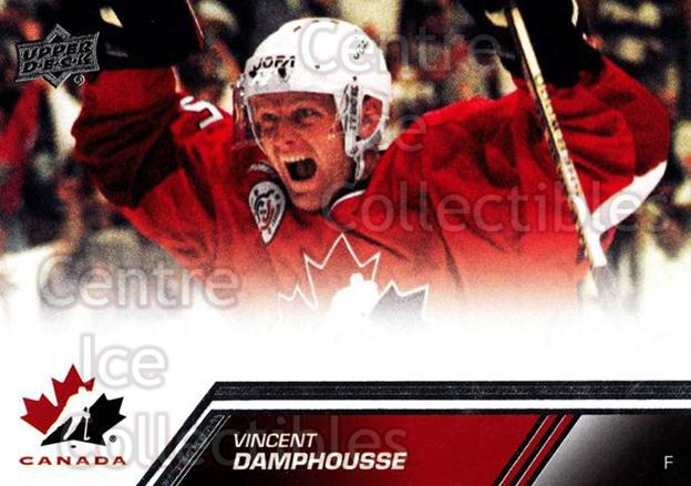 2013-14 Upper Deck Team Canada #124 Vincent Damphousse<br/>4 In Stock - $2.00 each - <a href=https://centericecollectibles.foxycart.com/cart?name=2013-14%20Upper%20Deck%20Team%20Canada%20%23124%20Vincent%20Damphou...&quantity_max=4&price=$2.00&code=643509 class=foxycart> Buy it now! </a>