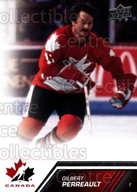 2013-14 Upper Deck Team Canada #127 Gilbert Perreault<br/>2 In Stock - $3.00 each - <a href=https://centericecollectibles.foxycart.com/cart?name=2013-14%20Upper%20Deck%20Team%20Canada%20%23127%20Gilbert%20Perreau...&quantity_max=2&price=$3.00&code=643512 class=foxycart> Buy it now! </a>