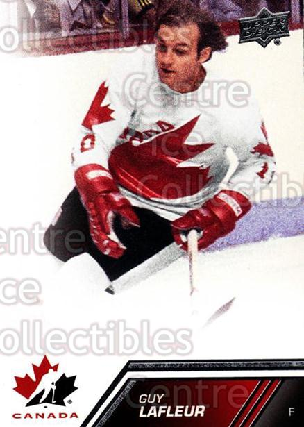 2013-14 Upper Deck Team Canada #129 Guy Lafleur<br/>2 In Stock - $3.00 each - <a href=https://centericecollectibles.foxycart.com/cart?name=2013-14%20Upper%20Deck%20Team%20Canada%20%23129%20Guy%20Lafleur...&quantity_max=2&price=$3.00&code=643514 class=foxycart> Buy it now! </a>