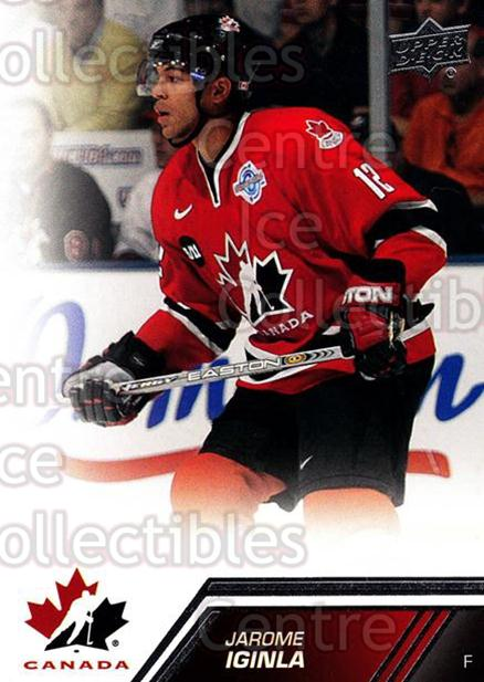 2013-14 Upper Deck Team Canada #130 Jarome Iginla<br/>2 In Stock - $2.00 each - <a href=https://centericecollectibles.foxycart.com/cart?name=2013-14%20Upper%20Deck%20Team%20Canada%20%23130%20Jarome%20Iginla...&quantity_max=2&price=$2.00&code=643515 class=foxycart> Buy it now! </a>