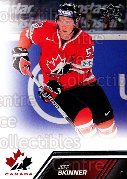 2013-14 Upper Deck Team Canada #132 Jeff Skinner<br/>5 In Stock - $2.00 each - <a href=https://centericecollectibles.foxycart.com/cart?name=2013-14%20Upper%20Deck%20Team%20Canada%20%23132%20Jeff%20Skinner...&quantity_max=5&price=$2.00&code=643517 class=foxycart> Buy it now! </a>