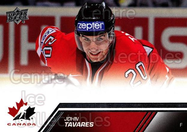 2013-14 Upper Deck Team Canada #135 John Tavares<br/>2 In Stock - $2.00 each - <a href=https://centericecollectibles.foxycart.com/cart?name=2013-14%20Upper%20Deck%20Team%20Canada%20%23135%20John%20Tavares...&quantity_max=2&price=$2.00&code=643520 class=foxycart> Buy it now! </a>