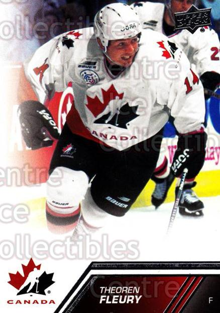 2013-14 Upper Deck Team Canada #141 Theoren Fleury<br/>2 In Stock - $3.00 each - <a href=https://centericecollectibles.foxycart.com/cart?name=2013-14%20Upper%20Deck%20Team%20Canada%20%23141%20Theoren%20Fleury...&quantity_max=2&price=$3.00&code=643526 class=foxycart> Buy it now! </a>