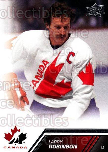 2013-14 Upper Deck Team Canada #148 Larry Robinson<br/>2 In Stock - $2.00 each - <a href=https://centericecollectibles.foxycart.com/cart?name=2013-14%20Upper%20Deck%20Team%20Canada%20%23148%20Larry%20Robinson...&quantity_max=2&price=$2.00&code=643533 class=foxycart> Buy it now! </a>