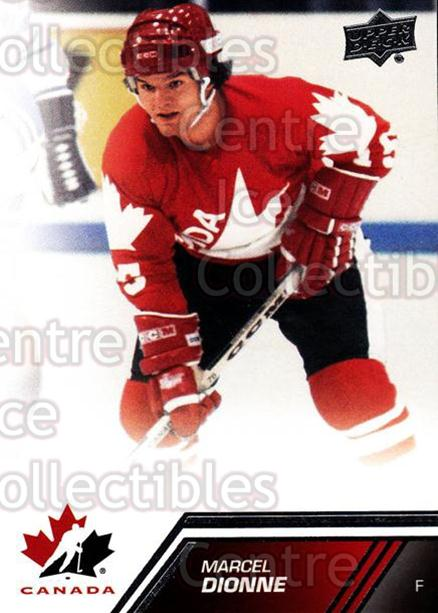 2013-14 Upper Deck Team Canada #153 Marcel Dionne<br/>3 In Stock - $2.00 each - <a href=https://centericecollectibles.foxycart.com/cart?name=2013-14%20Upper%20Deck%20Team%20Canada%20%23153%20Marcel%20Dionne...&quantity_max=3&price=$2.00&code=643538 class=foxycart> Buy it now! </a>