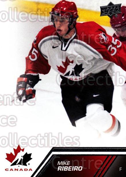 2013-14 Upper Deck Team Canada #165 Mike Ribeiro<br/>7 In Stock - $2.00 each - <a href=https://centericecollectibles.foxycart.com/cart?name=2013-14%20Upper%20Deck%20Team%20Canada%20%23165%20Mike%20Ribeiro...&quantity_max=7&price=$2.00&code=643550 class=foxycart> Buy it now! </a>