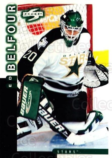 1997-98 Score #20 Ed Belfour<br/>3 In Stock - $1.00 each - <a href=https://centericecollectibles.foxycart.com/cart?name=1997-98%20Score%20%2320%20Ed%20Belfour...&price=$1.00&code=64355 class=foxycart> Buy it now! </a>