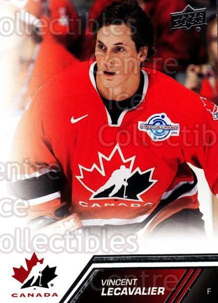 2013-14 Upper Deck Team Canada #191 Vincent Lecavalier<br/>5 In Stock - $2.00 each - <a href=https://centericecollectibles.foxycart.com/cart?name=2013-14%20Upper%20Deck%20Team%20Canada%20%23191%20Vincent%20Lecaval...&quantity_max=5&price=$2.00&code=643576 class=foxycart> Buy it now! </a>