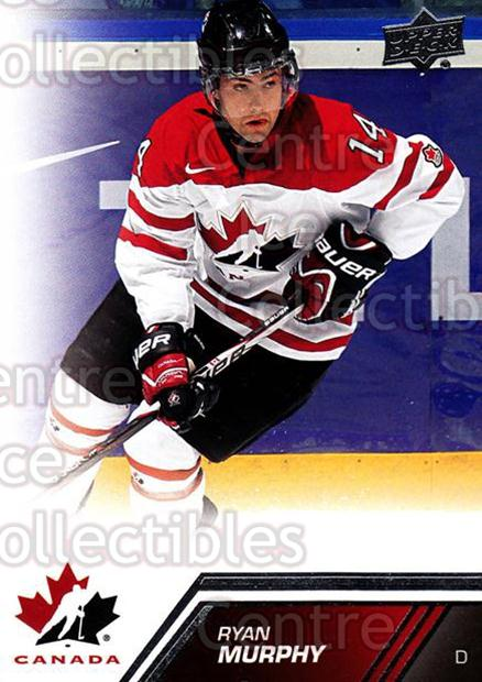 2013-14 Upper Deck Team Canada #200 Ryan Murphy<br/>6 In Stock - $2.00 each - <a href=https://centericecollectibles.foxycart.com/cart?name=2013-14%20Upper%20Deck%20Team%20Canada%20%23200%20Ryan%20Murphy...&quantity_max=6&price=$2.00&code=643585 class=foxycart> Buy it now! </a>