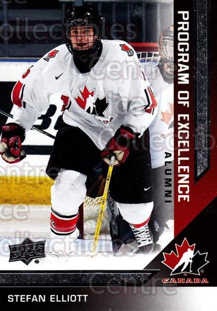 2013-14 Upper Deck Team Canada #201 Stefan Elliott<br/>6 In Stock - $2.00 each - <a href=https://centericecollectibles.foxycart.com/cart?name=2013-14%20Upper%20Deck%20Team%20Canada%20%23201%20Stefan%20Elliott...&quantity_max=6&price=$2.00&code=643586 class=foxycart> Buy it now! </a>