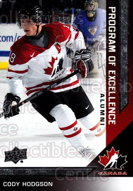 2013-14 Upper Deck Team Canada #202 Cody Hodgson<br/>4 In Stock - $3.00 each - <a href=https://centericecollectibles.foxycart.com/cart?name=2013-14%20Upper%20Deck%20Team%20Canada%20%23202%20Cody%20Hodgson...&quantity_max=4&price=$3.00&code=643587 class=foxycart> Buy it now! </a>