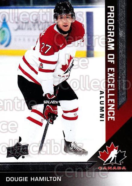 2013-14 Upper Deck Team Canada #205 Dougie Hamilton<br/>4 In Stock - $2.00 each - <a href=https://centericecollectibles.foxycart.com/cart?name=2013-14%20Upper%20Deck%20Team%20Canada%20%23205%20Dougie%20Hamilton...&quantity_max=4&price=$2.00&code=643590 class=foxycart> Buy it now! </a>