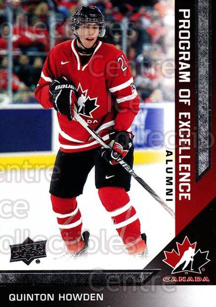 2013-14 Upper Deck Team Canada #211 Quinton Howden<br/>6 In Stock - $2.00 each - <a href=https://centericecollectibles.foxycart.com/cart?name=2013-14%20Upper%20Deck%20Team%20Canada%20%23211%20Quinton%20Howden...&quantity_max=6&price=$2.00&code=643596 class=foxycart> Buy it now! </a>