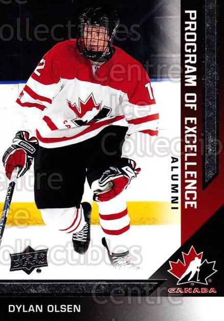 2013-14 Upper Deck Team Canada #213 Dylan Olsen<br/>2 In Stock - $2.00 each - <a href=https://centericecollectibles.foxycart.com/cart?name=2013-14%20Upper%20Deck%20Team%20Canada%20%23213%20Dylan%20Olsen...&quantity_max=2&price=$2.00&code=643598 class=foxycart> Buy it now! </a>