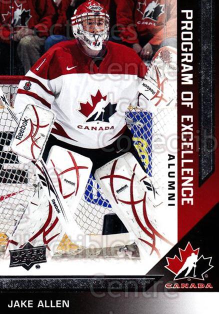 2013-14 Upper Deck Team Canada #219 Jake Allen<br/>3 In Stock - $2.00 each - <a href=https://centericecollectibles.foxycart.com/cart?name=2013-14%20Upper%20Deck%20Team%20Canada%20%23219%20Jake%20Allen...&quantity_max=3&price=$2.00&code=643604 class=foxycart> Buy it now! </a>