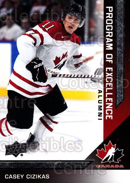 2013-14 Upper Deck Team Canada #220 Casey Cizikas<br/>6 In Stock - $2.00 each - <a href=https://centericecollectibles.foxycart.com/cart?name=2013-14%20Upper%20Deck%20Team%20Canada%20%23220%20Casey%20Cizikas...&quantity_max=6&price=$2.00&code=643605 class=foxycart> Buy it now! </a>