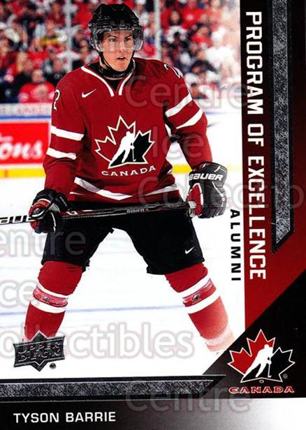 2013-14 Upper Deck Team Canada #221 Tyson Barrie<br/>3 In Stock - $3.00 each - <a href=https://centericecollectibles.foxycart.com/cart?name=2013-14%20Upper%20Deck%20Team%20Canada%20%23221%20Tyson%20Barrie...&quantity_max=3&price=$3.00&code=643606 class=foxycart> Buy it now! </a>