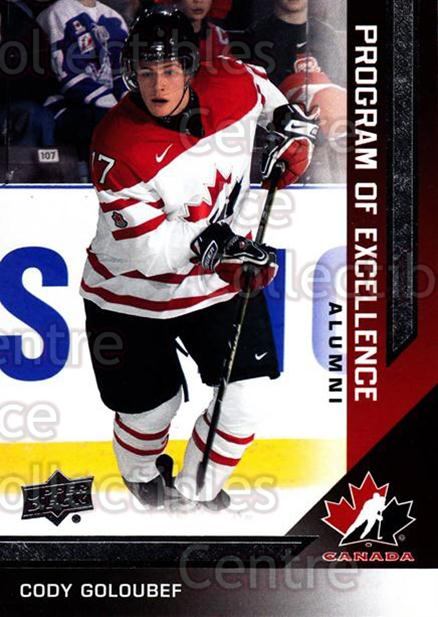 2013-14 Upper Deck Team Canada #222 Cody Goloubef<br/>4 In Stock - $2.00 each - <a href=https://centericecollectibles.foxycart.com/cart?name=2013-14%20Upper%20Deck%20Team%20Canada%20%23222%20Cody%20Goloubef...&quantity_max=4&price=$2.00&code=643607 class=foxycart> Buy it now! </a>