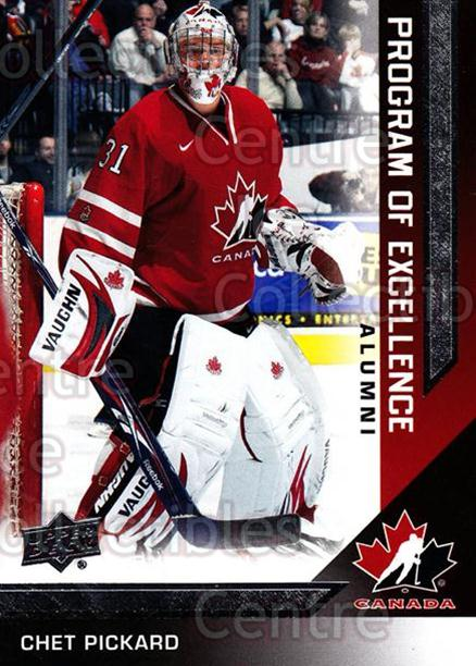 2013-14 Upper Deck Team Canada #224 Chet Pickard<br/>2 In Stock - $2.00 each - <a href=https://centericecollectibles.foxycart.com/cart?name=2013-14%20Upper%20Deck%20Team%20Canada%20%23224%20Chet%20Pickard...&quantity_max=2&price=$2.00&code=643609 class=foxycart> Buy it now! </a>