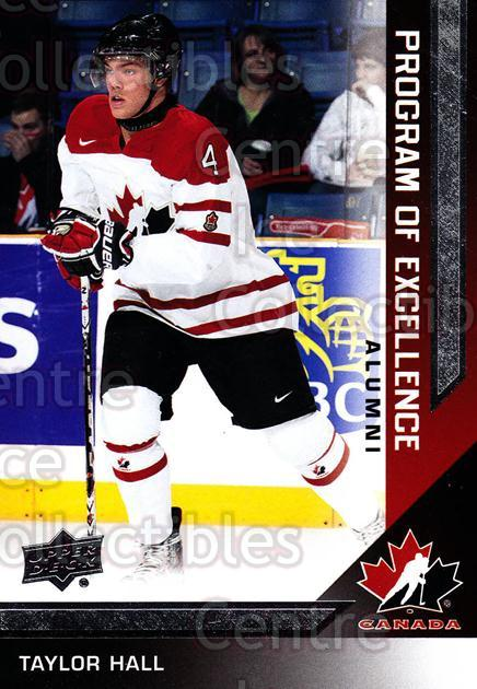 2013-14 Upper Deck Team Canada #226 Taylor Hall<br/>6 In Stock - $2.00 each - <a href=https://centericecollectibles.foxycart.com/cart?name=2013-14%20Upper%20Deck%20Team%20Canada%20%23226%20Taylor%20Hall...&quantity_max=6&price=$2.00&code=643611 class=foxycart> Buy it now! </a>
