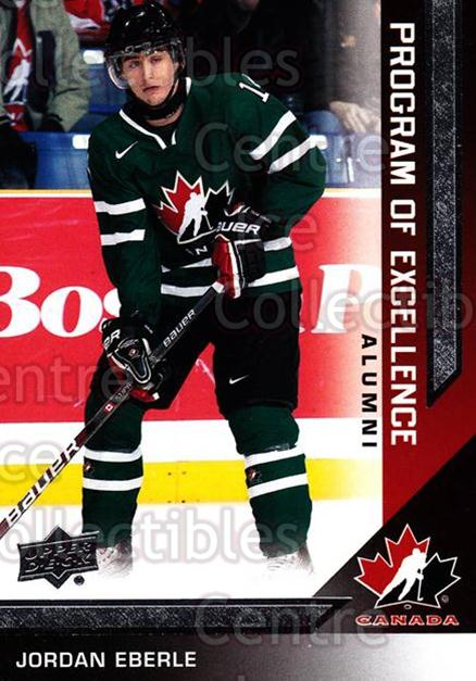 2013-14 Upper Deck Team Canada #227 Jordan Eberle<br/>3 In Stock - $3.00 each - <a href=https://centericecollectibles.foxycart.com/cart?name=2013-14%20Upper%20Deck%20Team%20Canada%20%23227%20Jordan%20Eberle...&quantity_max=3&price=$3.00&code=643612 class=foxycart> Buy it now! </a>