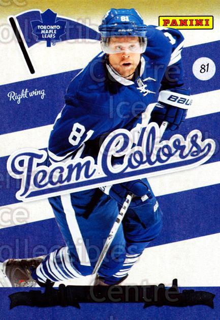 2011-12 Panini Team Colors Toronto Fall Expo #1 Phil Kessel<br/>1 In Stock - $3.00 each - <a href=https://centericecollectibles.foxycart.com/cart?name=2011-12%20Panini%20Team%20Colors%20Toronto%20Fall%20Expo%20%231%20Phil%20Kessel...&quantity_max=1&price=$3.00&code=643714 class=foxycart> Buy it now! </a>