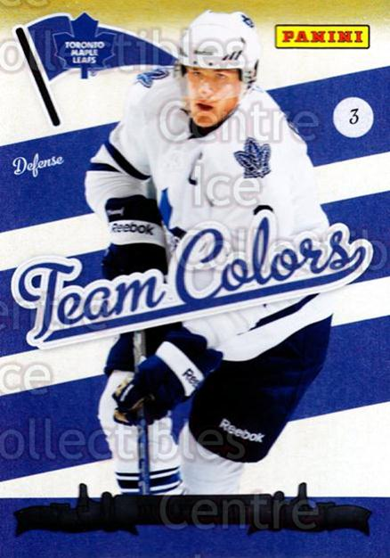 2011-12 Panini Team Colors Toronto Fall Expo #2 Dion Phaneuf<br/>1 In Stock - $3.00 each - <a href=https://centericecollectibles.foxycart.com/cart?name=2011-12%20Panini%20Team%20Colors%20Toronto%20Fall%20Expo%20%232%20Dion%20Phaneuf...&price=$3.00&code=643715 class=foxycart> Buy it now! </a>