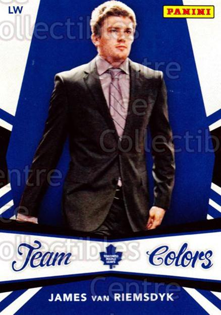 2012-13 Panini Team Colors Toronto Fall Expo #4 James van Riemsdyk<br/>2 In Stock - $3.00 each - <a href=https://centericecollectibles.foxycart.com/cart?name=2012-13%20Panini%20Team%20Colors%20Toronto%20Fall%20Expo%20%234%20James%20van%20Riems...&quantity_max=2&price=$3.00&code=643728 class=foxycart> Buy it now! </a>