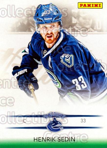 2012-13 Panini Toronto Fall Expo #8 Henrik Sedin<br/>2 In Stock - $3.00 each - <a href=https://centericecollectibles.foxycart.com/cart?name=2012-13%20Panini%20Toronto%20Fall%20Expo%20%238%20Henrik%20Sedin...&quantity_max=2&price=$3.00&code=643737 class=foxycart> Buy it now! </a>