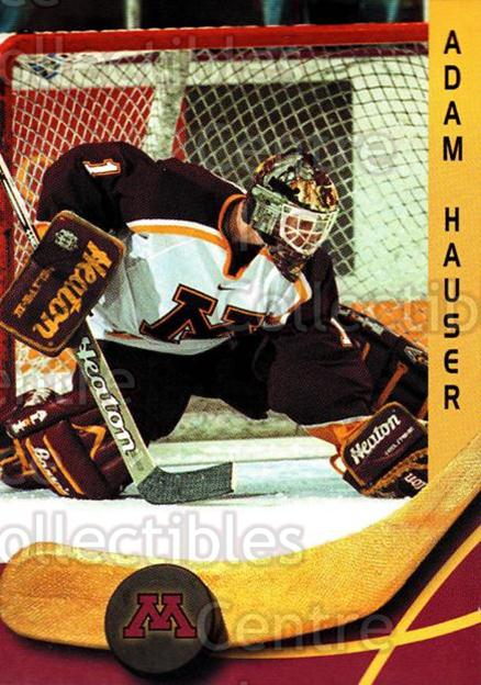 2000-01 Minnesota Golden Gophers #6 Adam Hauser<br/>1 In Stock - $3.00 each - <a href=https://centericecollectibles.foxycart.com/cart?name=2000-01%20Minnesota%20Golden%20Gophers%20%236%20Adam%20Hauser...&quantity_max=1&price=$3.00&code=643799 class=foxycart> Buy it now! </a>