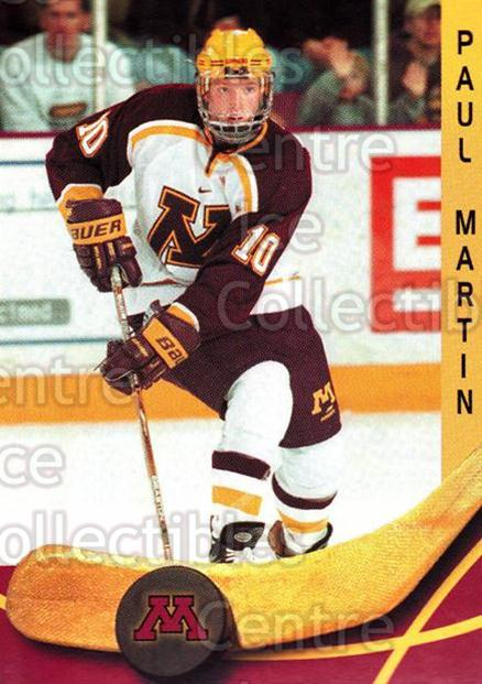 2000-01 Minnesota Golden Gophers #13 Paul Martin<br/>1 In Stock - $3.00 each - <a href=https://centericecollectibles.foxycart.com/cart?name=2000-01%20Minnesota%20Golden%20Gophers%20%2313%20Paul%20Martin...&quantity_max=1&price=$3.00&code=643806 class=foxycart> Buy it now! </a>