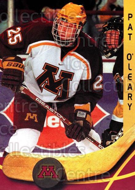 2000-01 Minnesota Golden Gophers #17 Pat O'Leary<br/>1 In Stock - $3.00 each - <a href=https://centericecollectibles.foxycart.com/cart?name=2000-01%20Minnesota%20Golden%20Gophers%20%2317%20Pat%20O'Leary...&quantity_max=1&price=$3.00&code=643810 class=foxycart> Buy it now! </a>
