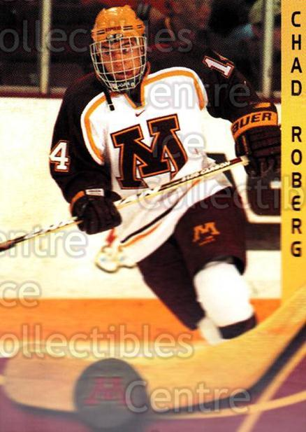 2000-01 Minnesota Golden Gophers #21 Chad Roberge<br/>2 In Stock - $3.00 each - <a href=https://centericecollectibles.foxycart.com/cart?name=2000-01%20Minnesota%20Golden%20Gophers%20%2321%20Chad%20Roberge...&quantity_max=2&price=$3.00&code=643814 class=foxycart> Buy it now! </a>