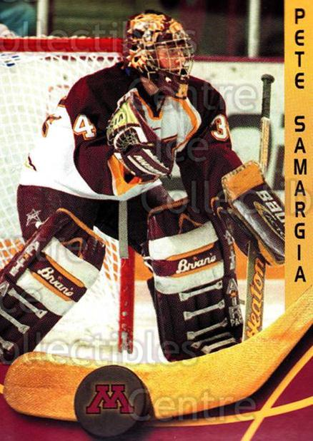 2000-01 Minnesota Golden Gophers #22 Pete Samargia<br/>1 In Stock - $3.00 each - <a href=https://centericecollectibles.foxycart.com/cart?name=2000-01%20Minnesota%20Golden%20Gophers%20%2322%20Pete%20Samargia...&quantity_max=1&price=$3.00&code=643815 class=foxycart> Buy it now! </a>