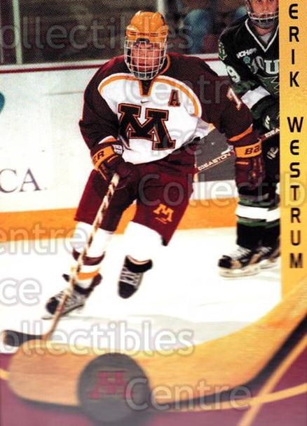 2000-01 Minnesota Golden Gophers #27 Erik Wendell<br/>2 In Stock - $3.00 each - <a href=https://centericecollectibles.foxycart.com/cart?name=2000-01%20Minnesota%20Golden%20Gophers%20%2327%20Erik%20Wendell...&quantity_max=2&price=$3.00&code=643820 class=foxycart> Buy it now! </a>