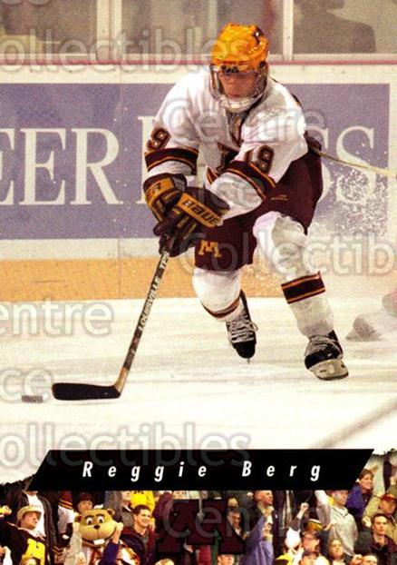 1998-99 Minnesota Golden Gophers #8 Reggie Berg<br/>1 In Stock - $3.00 each - <a href=https://centericecollectibles.foxycart.com/cart?name=1998-99%20Minnesota%20Golden%20Gophers%20%238%20Reggie%20Berg...&quantity_max=1&price=$3.00&code=643829 class=foxycart> Buy it now! </a>