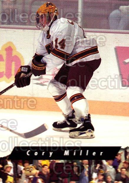 1998-99 Minnesota Golden Gophers #11 Cory Miller<br/>2 In Stock - $3.00 each - <a href=https://centericecollectibles.foxycart.com/cart?name=1998-99%20Minnesota%20Golden%20Gophers%20%2311%20Cory%20Miller...&quantity_max=2&price=$3.00&code=643832 class=foxycart> Buy it now! </a>
