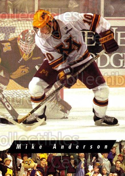1998-99 Minnesota Golden Gophers #12 Mike Anderson<br/>1 In Stock - $3.00 each - <a href=https://centericecollectibles.foxycart.com/cart?name=1998-99%20Minnesota%20Golden%20Gophers%20%2312%20Mike%20Anderson...&quantity_max=1&price=$3.00&code=643833 class=foxycart> Buy it now! </a>