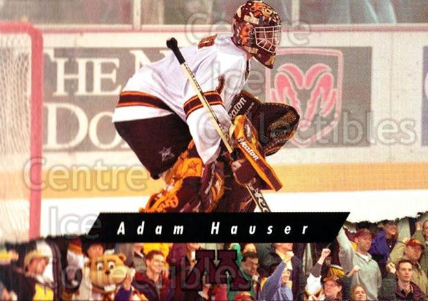 1998-99 Minnesota Golden Gophers #22 Adam Hauser<br/>1 In Stock - $3.00 each - <a href=https://centericecollectibles.foxycart.com/cart?name=1998-99%20Minnesota%20Golden%20Gophers%20%2322%20Adam%20Hauser...&quantity_max=1&price=$3.00&code=643843 class=foxycart> Buy it now! </a>