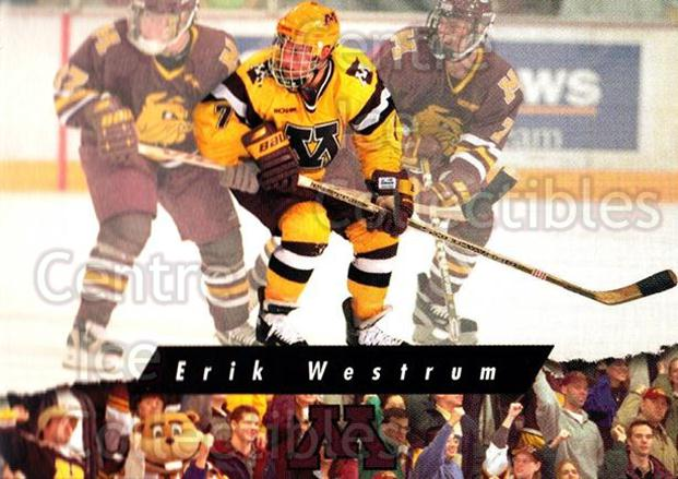 1998-99 Minnesota Golden Gophers #28 Erik Westrum<br/>1 In Stock - $3.00 each - <a href=https://centericecollectibles.foxycart.com/cart?name=1998-99%20Minnesota%20Golden%20Gophers%20%2328%20Erik%20Westrum...&quantity_max=1&price=$3.00&code=643849 class=foxycart> Buy it now! </a>