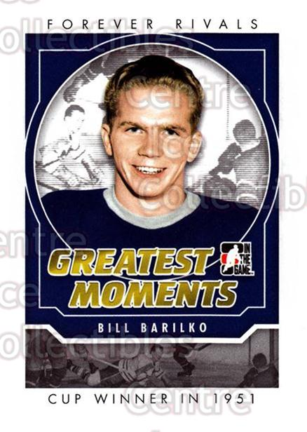 2012-13 ITG Forever Rivals Greatest Moments #3 Bill Barilko<br/>2 In Stock - $3.00 each - <a href=https://centericecollectibles.foxycart.com/cart?name=2012-13%20ITG%20Forever%20Rivals%20Greatest%20Moments%20%233%20Bill%20Barilko...&quantity_max=2&price=$3.00&code=643861 class=foxycart> Buy it now! </a>