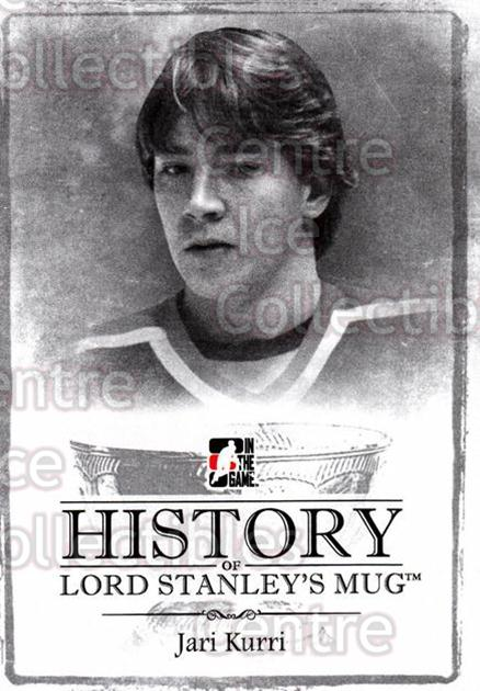 2013-14 ITG Lord Stanleys Mug History #34 Jari Kurri<br/>5 In Stock - $5.00 each - <a href=https://centericecollectibles.foxycart.com/cart?name=2013-14%20ITG%20Lord%20Stanleys%20Mug%20History%20%2334%20Jari%20Kurri...&quantity_max=5&price=$5.00&code=643937 class=foxycart> Buy it now! </a>