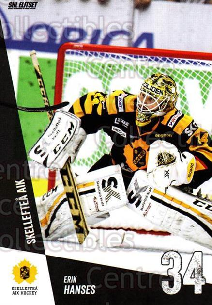 2014-15 Swedish Elitset #265 Erik Hanses<br/>1 In Stock - $2.00 each - <a href=https://centericecollectibles.foxycart.com/cart?name=2014-15%20Swedish%20Elitset%20%23265%20Erik%20Hanses...&quantity_max=1&price=$2.00&code=644057 class=foxycart> Buy it now! </a>