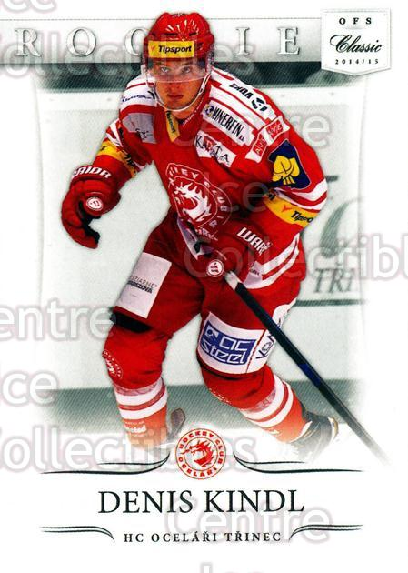 2014-15 Czech OFS Classic #28 Denis Kindl<br/>4 In Stock - $2.00 each - <a href=https://centericecollectibles.foxycart.com/cart?name=2014-15%20Czech%20OFS%20Classic%20%2328%20Denis%20Kindl...&quantity_max=4&price=$2.00&code=644186 class=foxycart> Buy it now! </a>