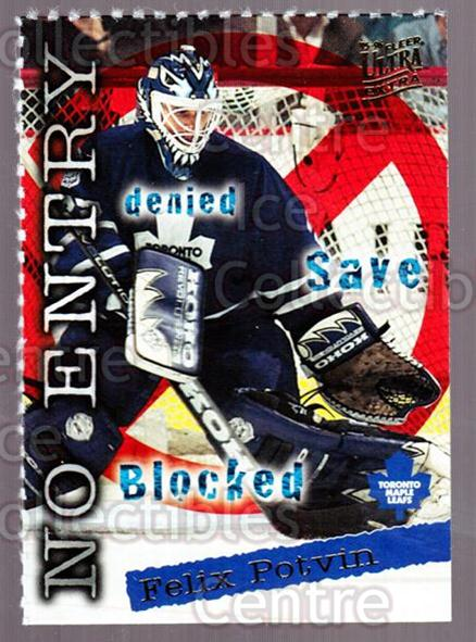 1995-96 Ultra Promos #4 Felix Potvin<br/>3 In Stock - $3.00 each - <a href=https://centericecollectibles.foxycart.com/cart?name=1995-96%20Ultra%20Promos%20%234%20Felix%20Potvin...&quantity_max=3&price=$3.00&code=644363 class=foxycart> Buy it now! </a>