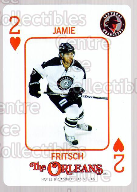 2010-11 Las Vegas Wranglers Playing Card #2 Jamie Fritsch<br/>1 In Stock - $3.00 each - <a href=https://centericecollectibles.foxycart.com/cart?name=2010-11%20Las%20Vegas%20Wranglers%20Playing%20Card%20%232%20Jamie%20Fritsch...&quantity_max=1&price=$3.00&code=644452 class=foxycart> Buy it now! </a>
