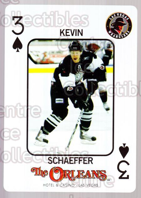 2010-11 Las Vegas Wranglers Playing Card #16 Kevin Schaeffer<br/>1 In Stock - $3.00 each - <a href=https://centericecollectibles.foxycart.com/cart?name=2010-11%20Las%20Vegas%20Wranglers%20Playing%20Card%20%2316%20Kevin%20Schaeffer...&quantity_max=1&price=$3.00&code=644466 class=foxycart> Buy it now! </a>